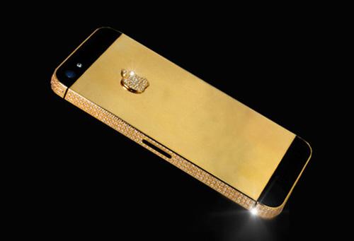 Iphong 5s mạ vàng24k- Vina Gold Art
