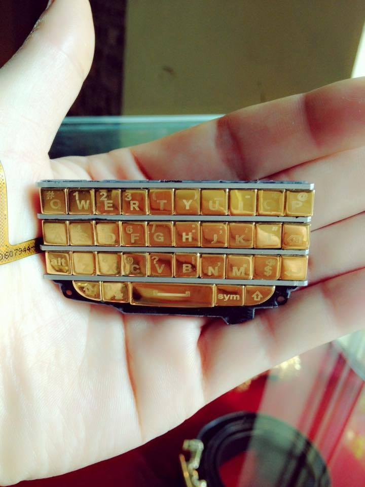 Bàn phím Q10 mạ vàng- Vina Gold Art