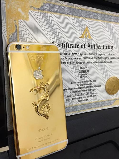 Hình ảnh rồng vàng tượng trưng cho sự quyền lực, may mắn