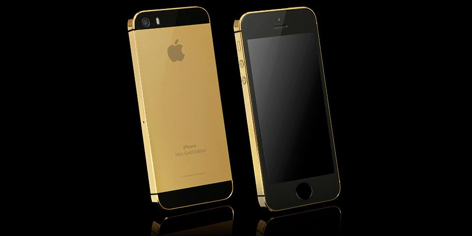 Iphone 5s mạ vàng