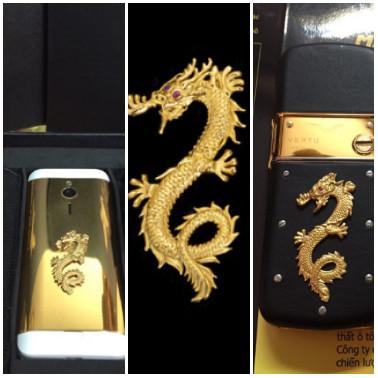 Rồng mạ vàng 24k