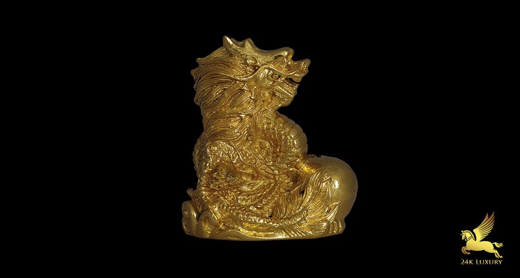 Tượng Rồng mạ vàng - Linh vật có ý nghĩa đặc biệt