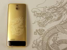 Điện thoại nokia 515 khắc hình rồng mạ vàng
