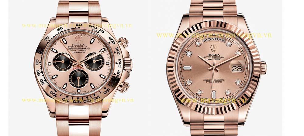 Đồng hồ mạ vàng hồng tại Vina Gold Art