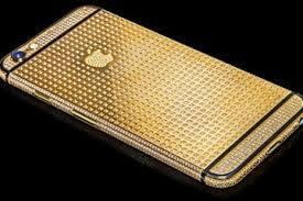 iphone 6 mạ vàng đính kim cươngtoàn bộ - vina gold art