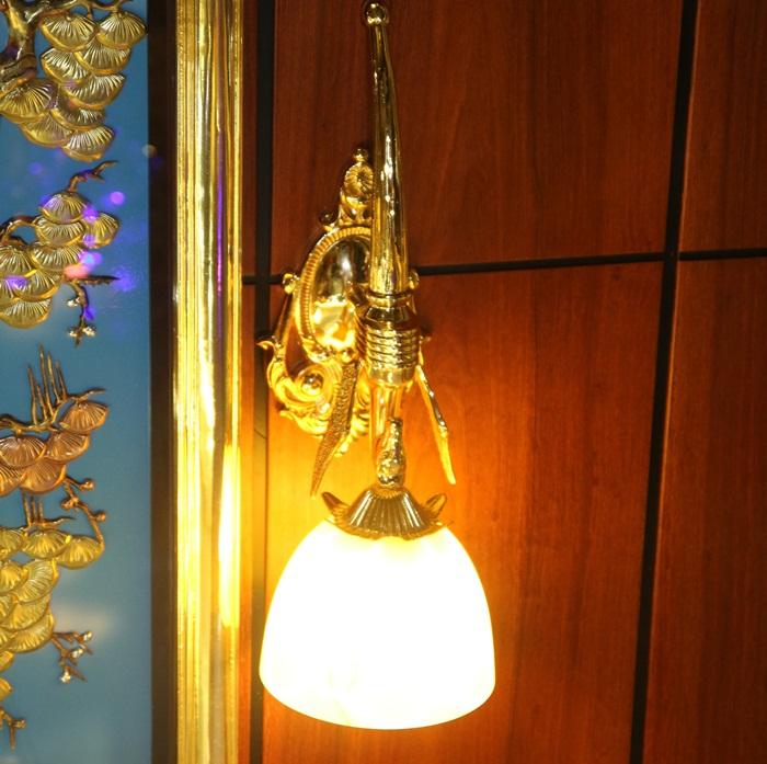 Đèn mạ vàng - Sản phẩm nội thất mạ vàng