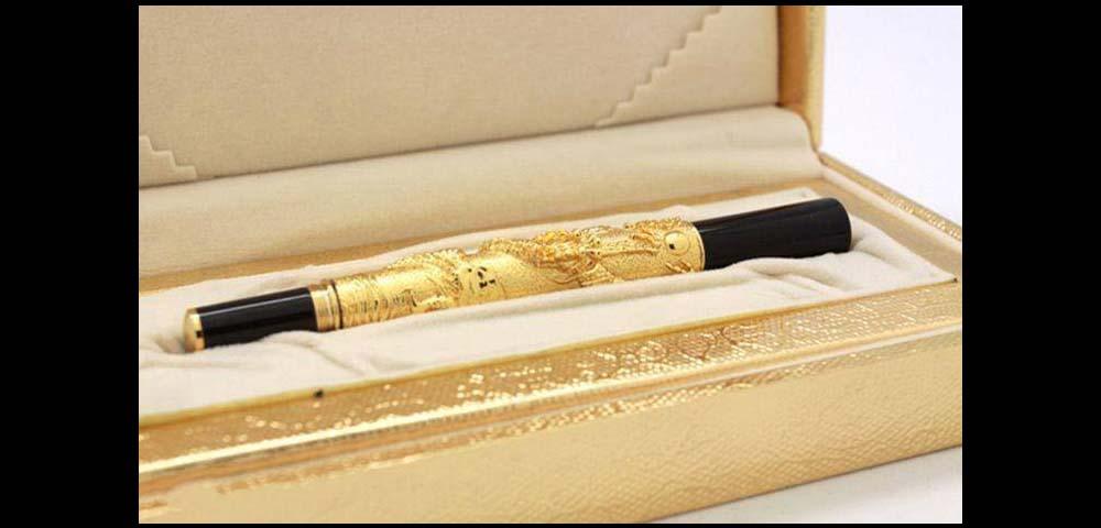 Bút ký mạ vàng