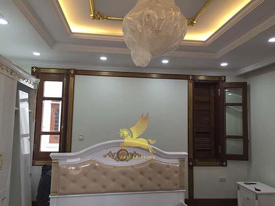 biệt thự mạ vàng