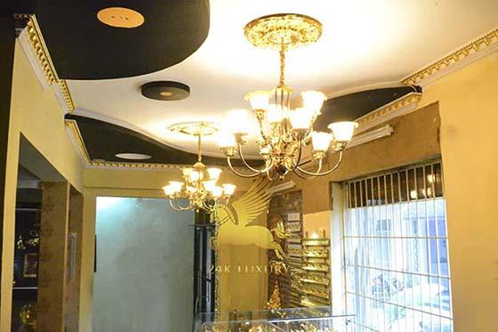 nội thất mạ vàng
