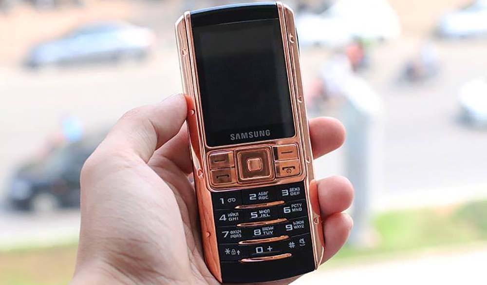 Samsung Ego mạ vàng hồng tại Vina Gold Art
