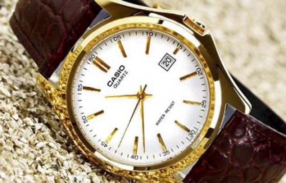 Đồng hồ thời trang mạ vàng 24k tại Vina Gold Art