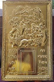 Lịch mạ vàng đẹp và ý nghĩa