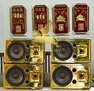 âm thanh mạ vàng