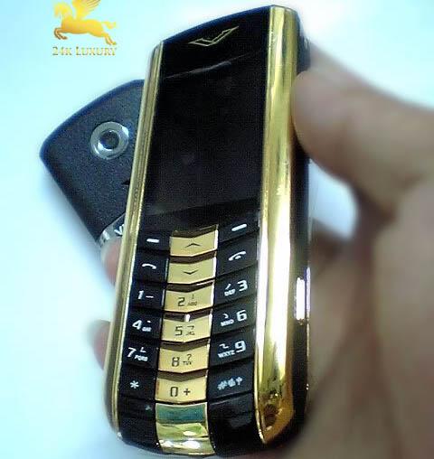 Mạ vàng điện thoại Vertu