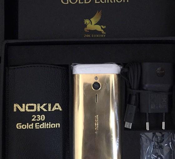 Điện thoại 230 mạ vàng 24k