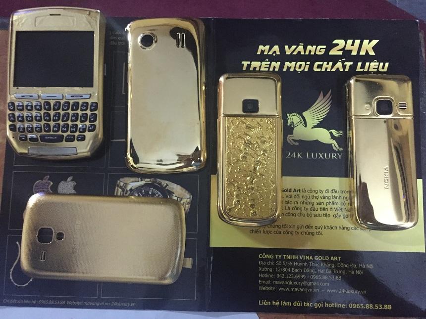 Vina Gold Art tự hào là đợn vị tiên phong trong lĩnh vực mạ vàng trên điện thoại nhựa