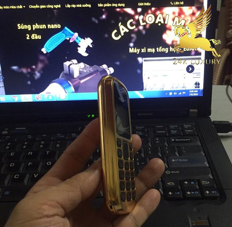 điện thoại 1280 mạ vàng