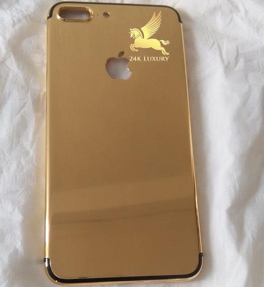 mạ vàng iphone 7