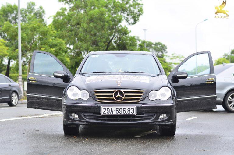 Mạ vàng ô tô Mercedes