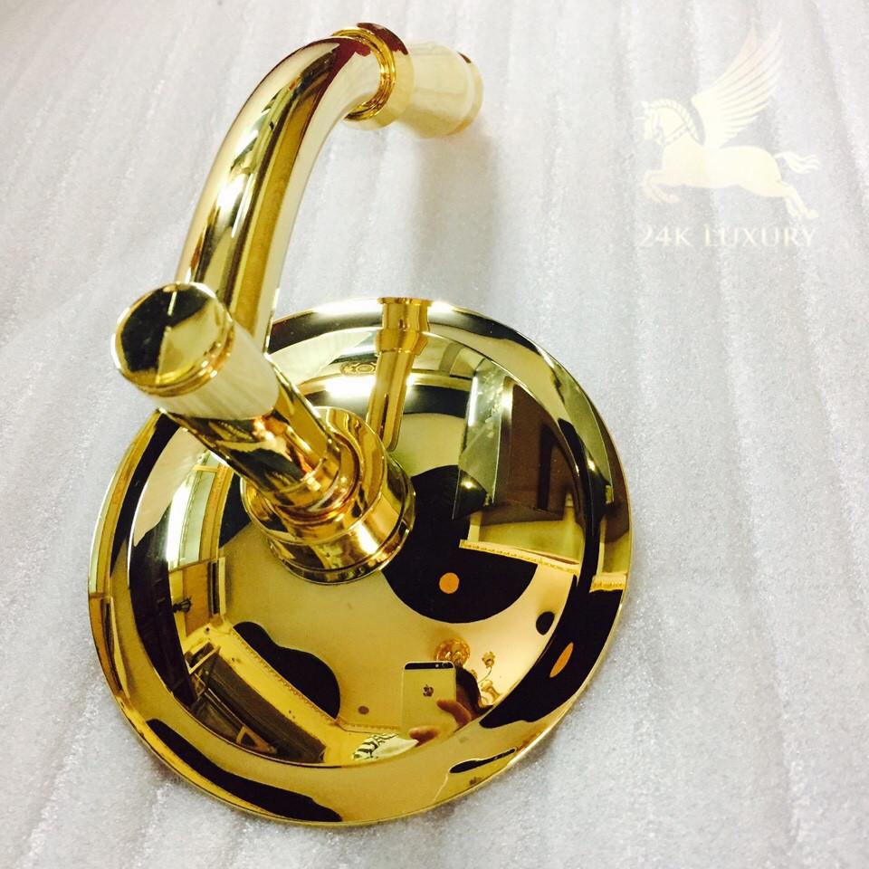 Bát sen mạ vàng tại Vina Gold Art