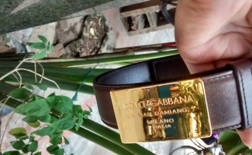 Dây lưng D&G mạ vàng có thể trở thành quà tặng mạ vàng mà bạn lựa chọn