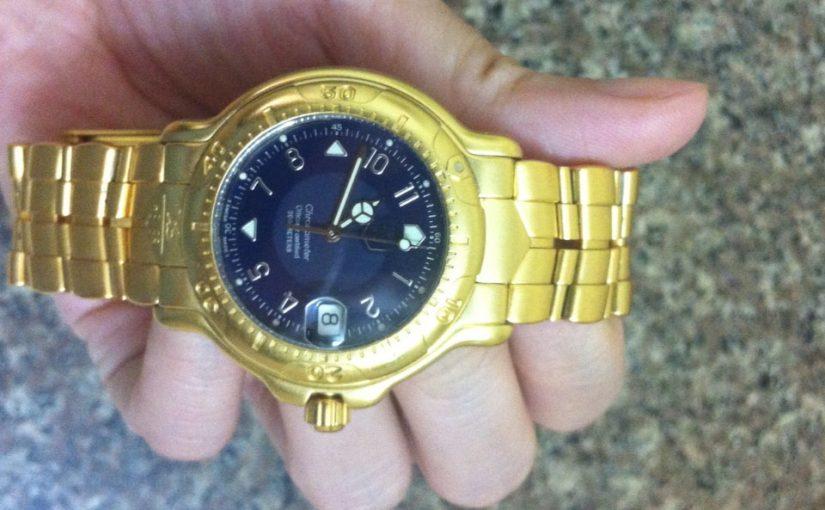 Đồng hồ thời trang mạ vàng 24k