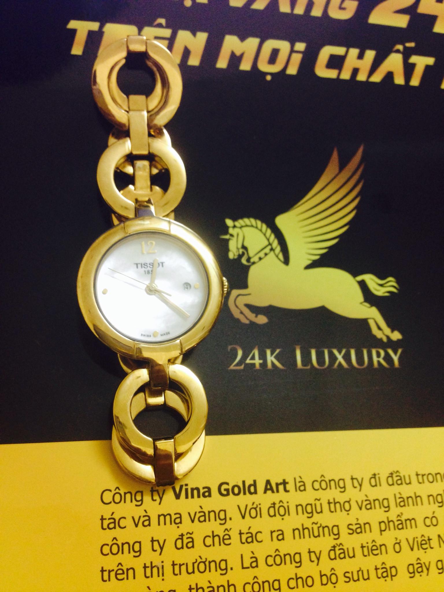 Đồng hồ nữ được mạ vàng 24k tại Vina Gold, tôn thêm vẻ đẹp và cá tính cho phái đẹp