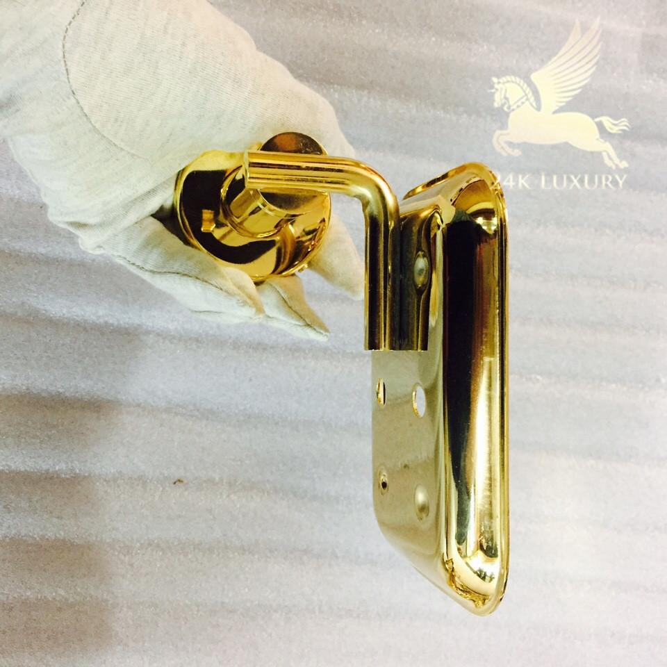 Kệ đựng xà phòng mạ vàng 24k luôn sáng bóng trong mọi góc độ