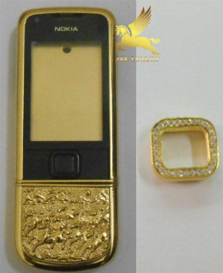 Nút phím bấm bốn chiều mạ vàng nâng tầm đẳng cấp cho người sở hữu.