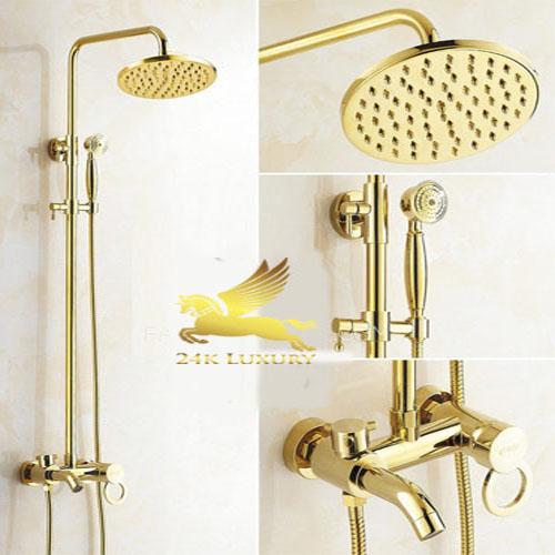 Thiết bị phòng tắm mạ vàng - Vina Gold Art