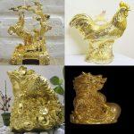 Bộ sưu tập linh vật mạ vàng độc đáo, ý nghĩa
