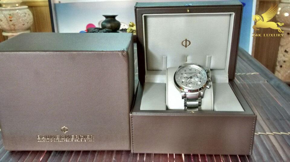 Chiếc đồng hồ Baume & Mercier Capland là một minh chứng cho sự mạnh mẽ