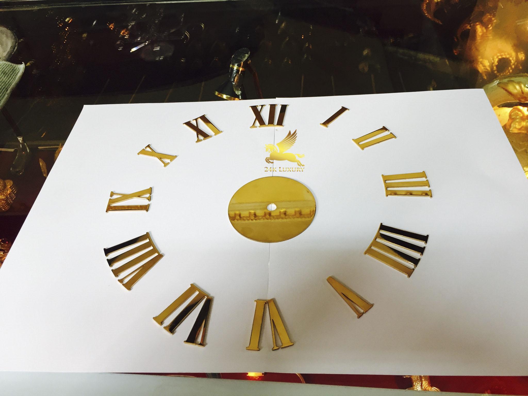 Đồng hồ được mạ vàng dựa trên công nghệ mạ vàng tiên tiến hiện đại nhất tại Vina Gold Art.