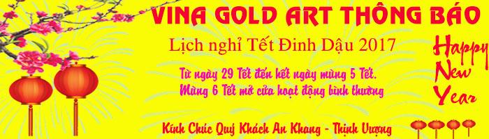 Lịch nghỉ Tết Nguyên Đán công ty Vina Gold Art