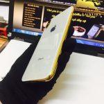 Iphone X mạ vàng 9999